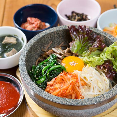 【ランチにおすすめ】韓国料理をカジュアルな店内でゆっくりとお楽しみください♪