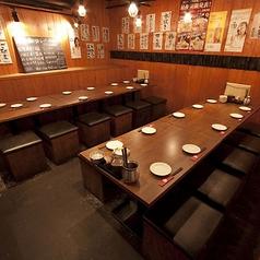 2名様~12名様のお席になります♪小宴会や昼宴会、深夜宴会、同僚飲み、合コンなど利用できます。タイムセールで15時~18時の飲み放題2000円⇒1300円と大変お得です。