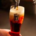 当店ではビールのスペシャリスト、樽生達人が1杯ごとに丁寧に注ぎ、泡まで美味しいこだわりのビールをご用意いたします♪オリジナルクラフトビール「ローズビア」をはじめ、プレミアムモルツなど5種類のビールやカクテル・ハイボールなどドリンクを豊富に取り揃えております。