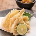 料理メニュー写真白海老の天婦羅