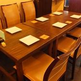 6名様テーブルなど人数に合わせてご用意