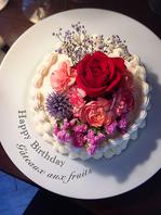 お誕生日や記念日のご利用も…☆