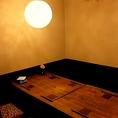 完全個室:6名様までの完全個室空間(テーブル席)ございます。小宴会や女子会、記念日・誕生日会などにもお使いいただけます!