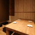 4名様用テーブル席!