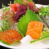 毎朝新鮮な鮮魚を仕入れてお待ちしております!