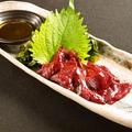 料理メニュー写真モウカ鮫の心臓刺身