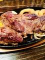 料理メニュー写真アメリカンビーフステーキ 200g