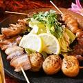 料理メニュー写真ちひろ串盛り6本(たれ・塩)