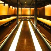 会社宴会や歓送迎会など大人数様でのご宴会にうってつけの大型個室。最大65名様までご利用可能となっております。貸切りでのご予約も承っておりますのでお気軽にお問い合わせください。