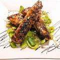 料理メニュー写真★☆★ 岩中豚スペアリブのグリル 香草オイルとバルサミコソース ★☆★