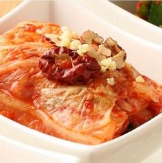 料理メニュー写真白菜キムチ/カクテキ(大根のキムチ)
