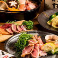新鮮食材を使った絶品地鶏料理に舌鼓!飲み放題付き宴会コースは3,499円~!