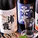 こだわりの日本酒は豊富な品揃え&厳重に管理