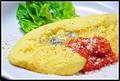 料理メニュー写真■オムレツプレーン or ゴルゴンゾーラ