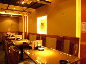 テーブル席も個室OK最大28名様対応