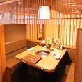 【テーブル席】新しくてオシャレな店内で焼肉!