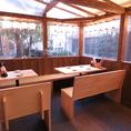 ◆宴会に最適なテラス席◆