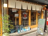 『透明なワイングラス』で『日本酒』を片手に飲むお店☆