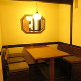 2階、テーブル席。