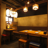 温かみのある色味で統一された店内は、安心できる空間を演出♪