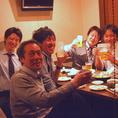【掘りごたつ席】みんなでワイワイ宴会!!