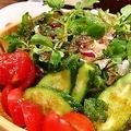 料理メニュー写真無農薬野菜サラダ