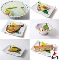 北海道産料理多数ご用意