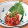 葱チャンジャ/冷やしトマト
