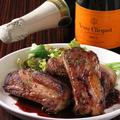 料理メニュー写真スペアリブの赤ワイン煮