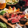 料理メニュー写真黒毛和牛山形牛とブランド豚TOKYO-Xのグリル盛り合わせ