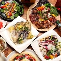新鮮な牡蠣やジビエ料理