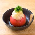 料理メニュー写真さっぱりガリトマト