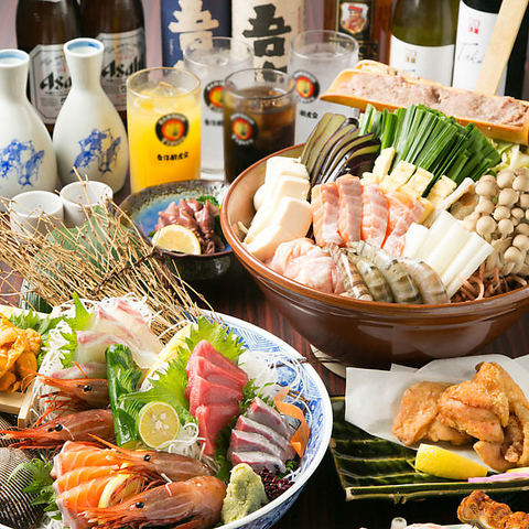 堺東駅よりすぐ!昼宴会OK!熱々のお鍋に炉端焼き、新鮮な海鮮♪