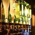 飲み放題はセルフ式なので、お好きなドリンクメニューを好きなだけご堪能頂けます。お酒が苦手な方は、お酒の量を少なめに作ったり、ソフトドリンクをお楽しみいただくことも可能です。美味しいお酒を楽しみながら素敵な出会いを満喫できます。