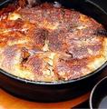 料理メニュー写真パリパリの羽根付き黒豚一口餃子