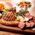料理メニュー写真東京X一頭買い部位食べ比べグリル盛り合わせ
