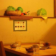 4名様テーブルソファー席