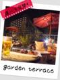 【最大70名様まで】季節限定ガーデンテラス♪ランチやカフェタイムのご利用もOK!