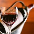 厳選の70種類以上のワインを取り揃え!当店の一押しメニューのボトルワイン。一本1980円均一でご用意しております♪