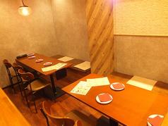テーブル席充実※半個室