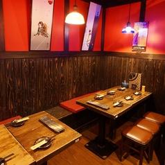 最大で14名様の宴会もOK★会社での集まりにも対応できる大きめ長いテーブルもございます。