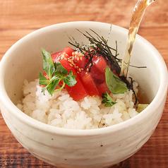 料理メニュー写真お茶漬け(梅・鮭)