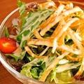 料理メニュー写真出汁巻き玉子/野菜スティック/むねひろサラダ