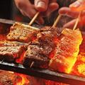 料理メニュー写真本日の宮崎地頭鶏炭火焼鳥