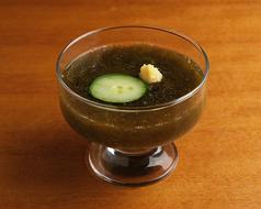 もずく酢 ''Mozuku'' seaweed