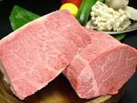 上質な肉を様々に楽しめる