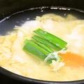 料理メニュー写真玉子スープ(レギュラー)