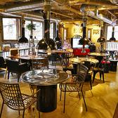 みんなで丸テーブルを囲んでワイワイできる#心斎橋 #食べ放題 #飲み放題 #チーズダッカルビ#サブギョプサル#韓国料理