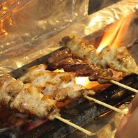 【信玄鶏の備長炭焼き】逸品料理が沢山あるそば居酒屋