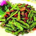 料理メニュー写真インゲン豆の辛口炒め
